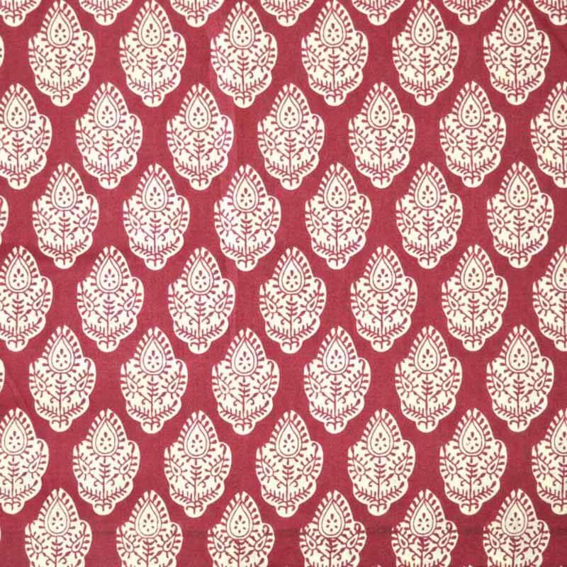 100/% Cotton Hand Block Print Indian Sanganeri Designer Print Throw Fabric Ikat