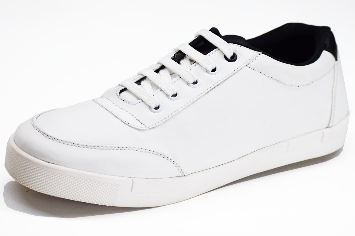 Sirius White Color Shoe-33249