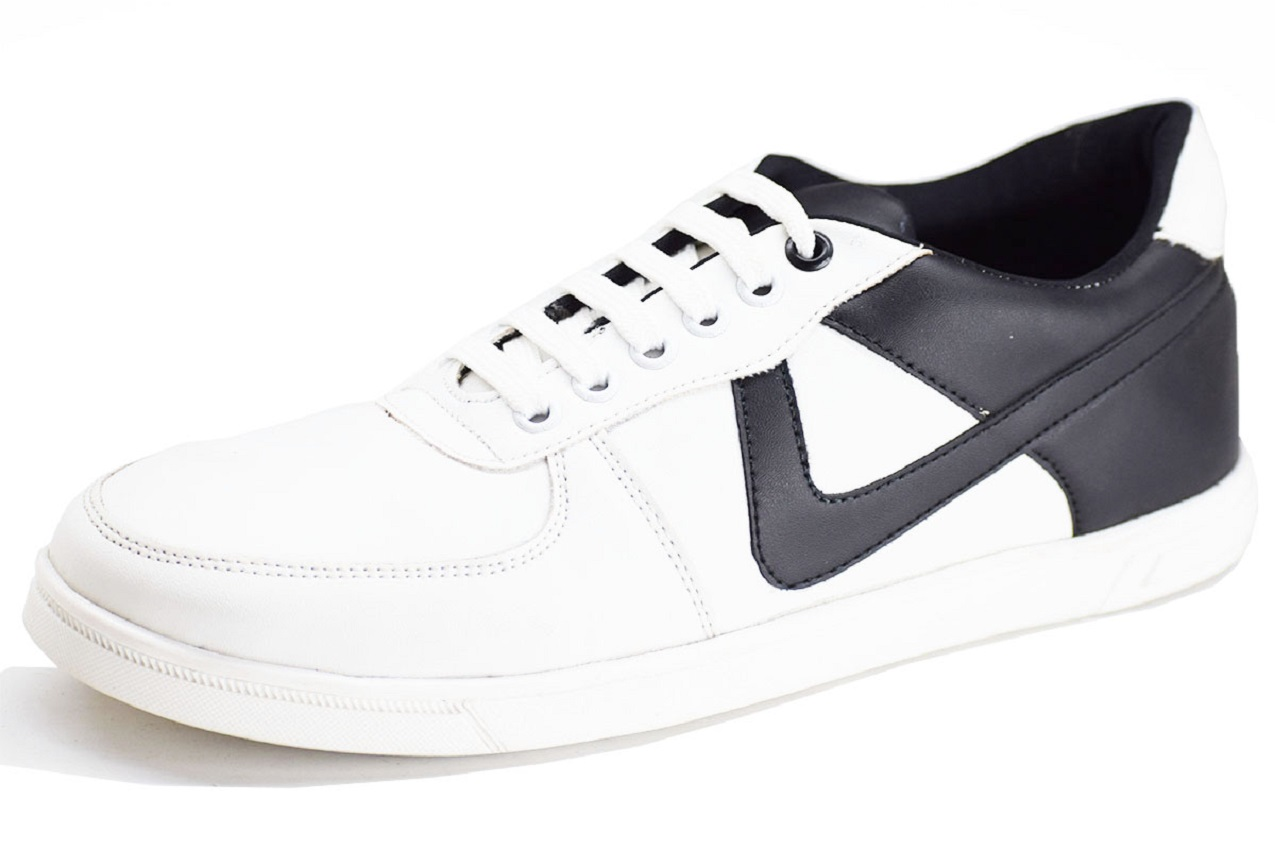 Dual Sneaker Black and white Color Shoe-33253