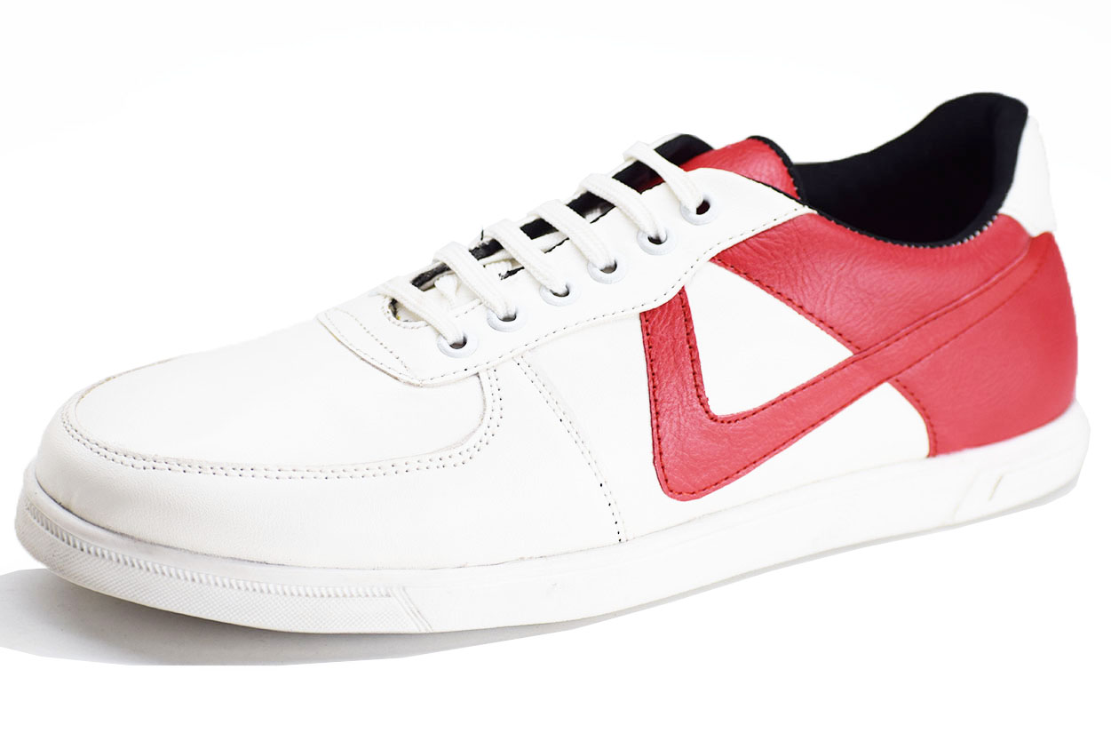 Dual Sneaker Red and white Color Shoe-33251