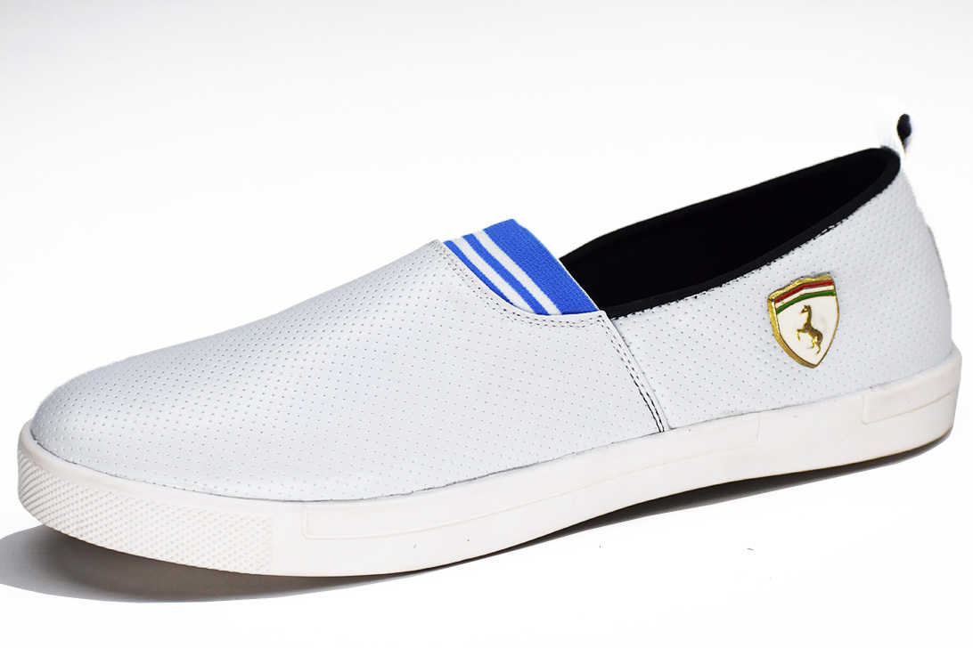 New Ferrari White Color Shoe-33260