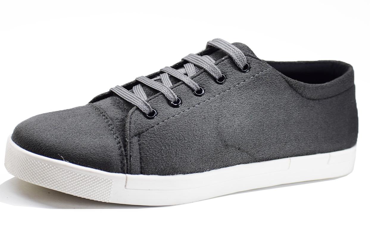 Simple Grey Color Shoe-33285