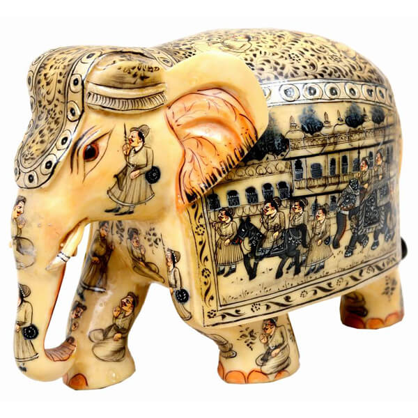 resin Elephant Statue-5 inch