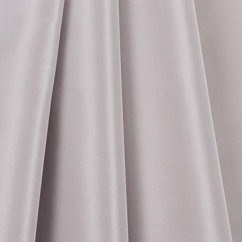 Silver Gary Silk Taffeta fabric-6514