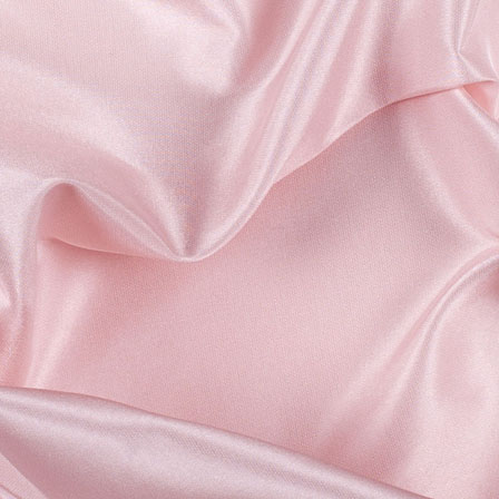 Baby Pink Silk Taffeta Fabric-6536