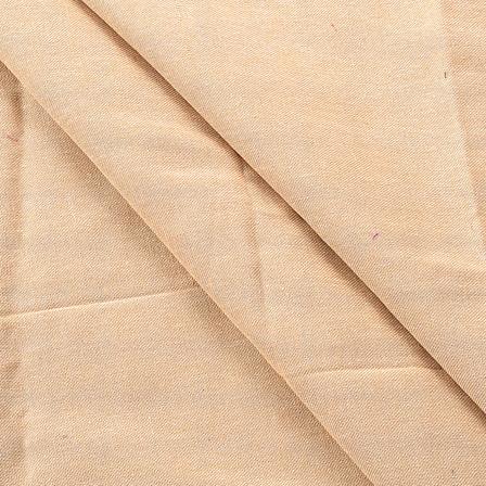 Beige Cotton Handloom Khadi Fabric-40165