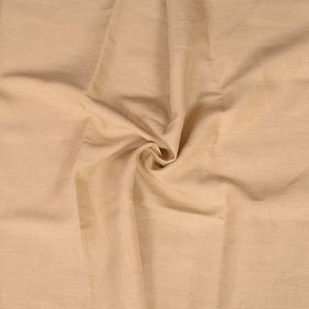 Beige Indian Linen Fabric-90024