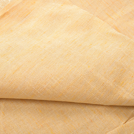 Beige Plain Two Ton Linen Fabric-40222