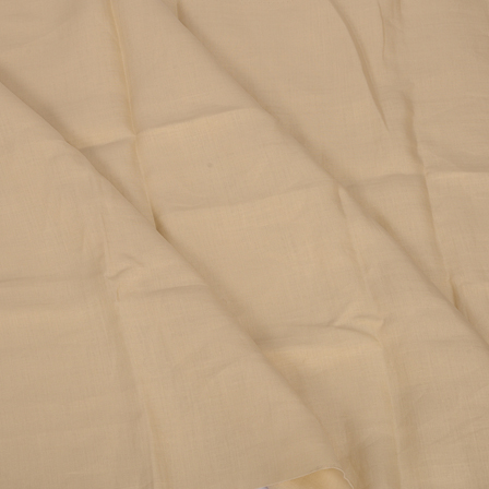 Beige Plain Linen Fabric-90004