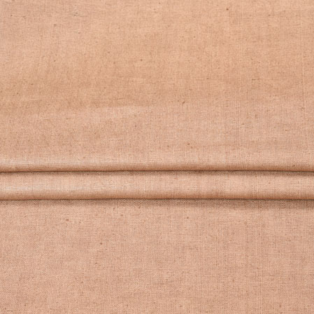 Beige Plain Linen Fabric-90145