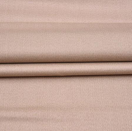 Men Unstitched Trouser (1.2 MTR)-Beige Plain Cotton Wool Fabric-42182