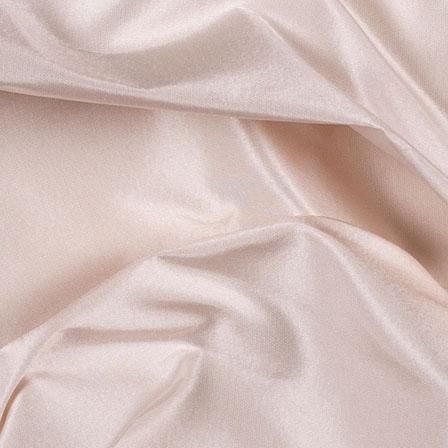 Beige Silk Taffeta Fabric-6538