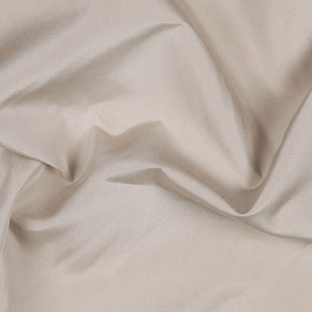 Beige Silk Taffeta Fabric-6564