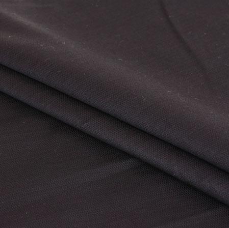 Men Unstitched Trouser (1.3 MTR)-Black Cotton Fabric-42062