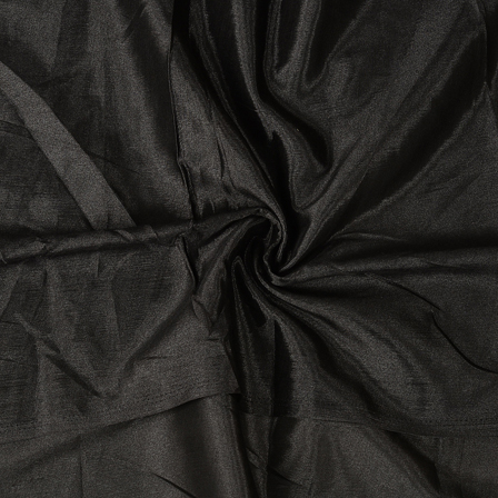 Black Plain Santoon Fabric-65006