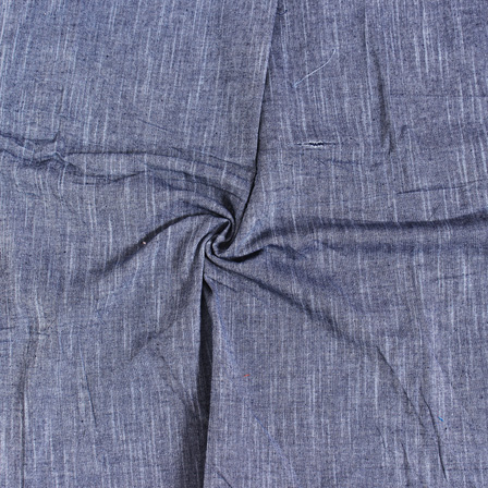 Gray Plain Slub Samray Handloom Fabric-40014
