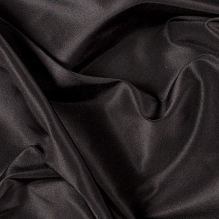 Black Silk Tafetta Fabric-6539