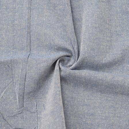 Blue Cotton Handloom Fabric-40160