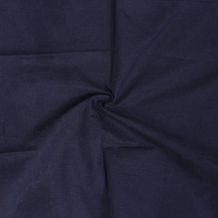 Blue Cotton Samray Handloom Fabric-40066