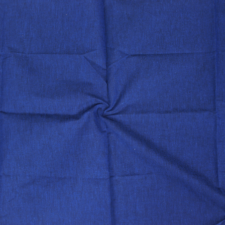 Blue Cotton Samray Handloom Fabric-40069