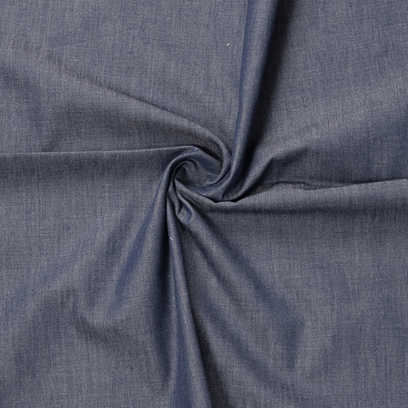 Blue Denim Handloom Fabric-40190