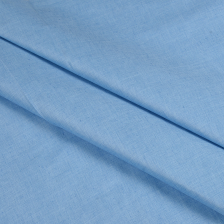 Blue Cotton Linen Shirt Fabric-90054