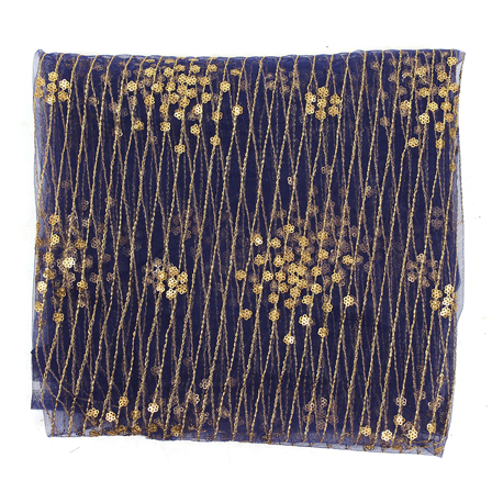 Embroidered Net Fabric Online Embroidery Materials