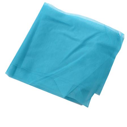 Blue Plain Indian Net Fabric-60168