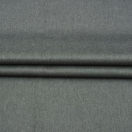 Men Unstitched Trouser (1.3 MTR)-Blue Plain Cotton Fabric-42060