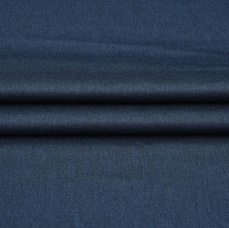 Men Unstitched Trouser (1.2 MTR)-Blue Plain Cotton Wool Fabric-42201