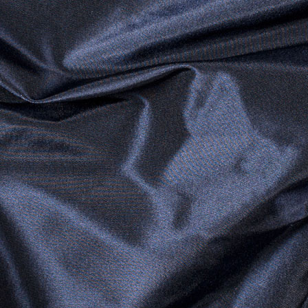 Blue and Black Silk Taffeta Fabric-6540