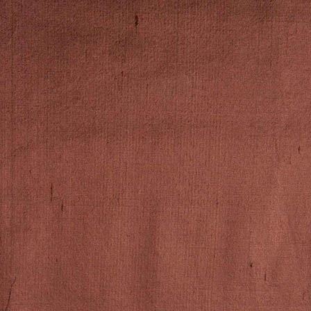 Brown Dupion Silk Fabric-4856