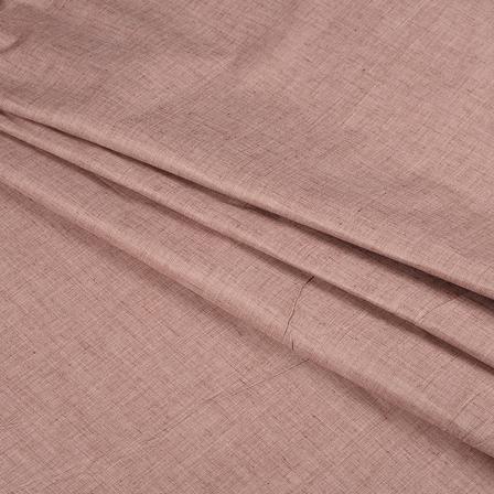 Khadi Shirt (2.25 Meter) Fabric-Brown Handloom Cotton -140361