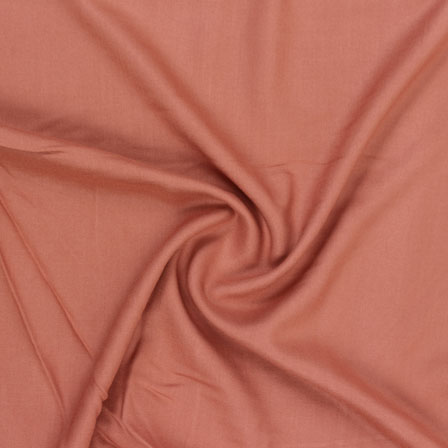 Brown Plain Khadi Rayon Fabric-40689