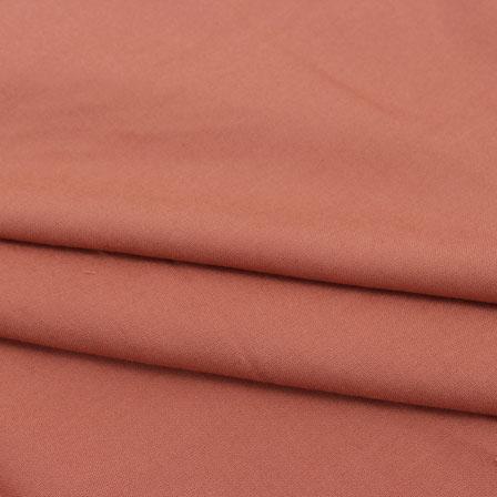 Rayon Shirt (2.25 Meter)-Brown Plain Rayon Fabric-40689