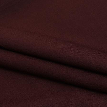 Rayon Shirt (2.25 Meter)-Brown Plain Rayon Fabric-40692