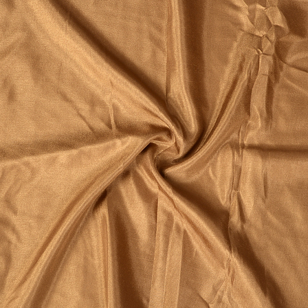 Brown Plain Santoon Fabric-65029