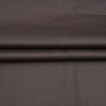 Men Unstitched Trouser (1.3 MTR)-Brown Plain Cotton Fabric-42055