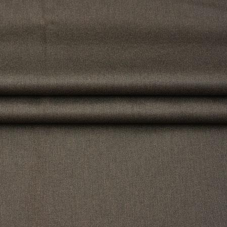 Men Unstitched Trouser (1.3 MTR)-Brown Plain Cotton Fabric-42059