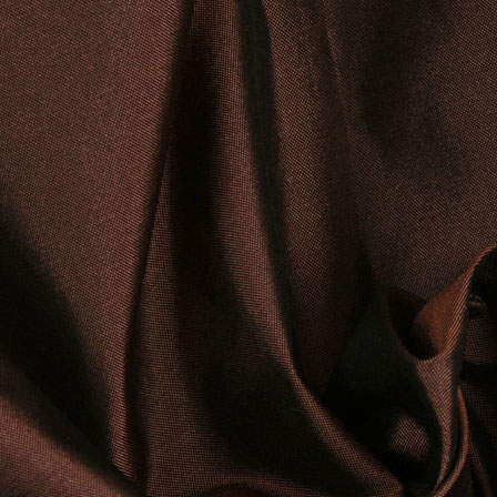 Brown Silk Taffeta Fabric-6527