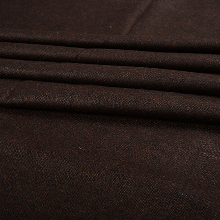 Pure Wool Blazer Fabric (2 MTR)  - Brown Tweed Wool-40312