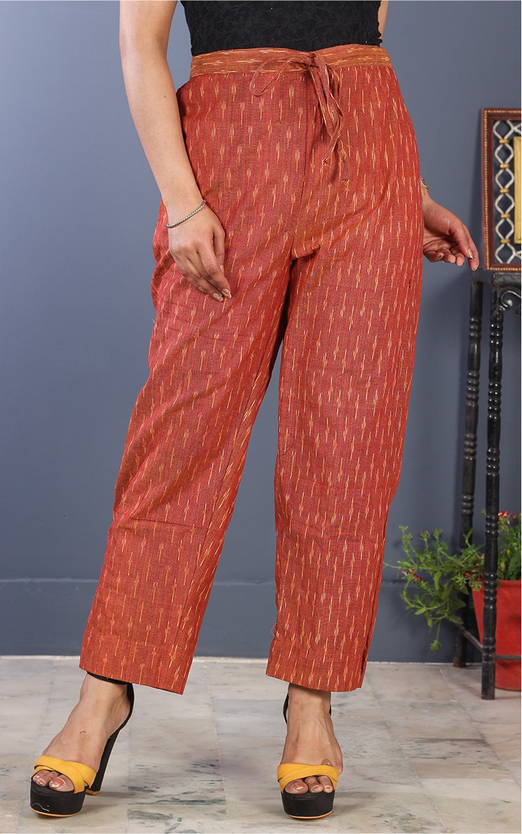 /home/customer/www/fabartcraft.com/public_html/uploadshttps://www.shopolics.com/uploads/images/medium/Brown-White-Cotton-Ikat-Ankle-Women-Pant-34695.jpg