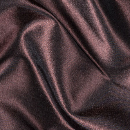 Chocolate Silk Taffeta Fabric-6551