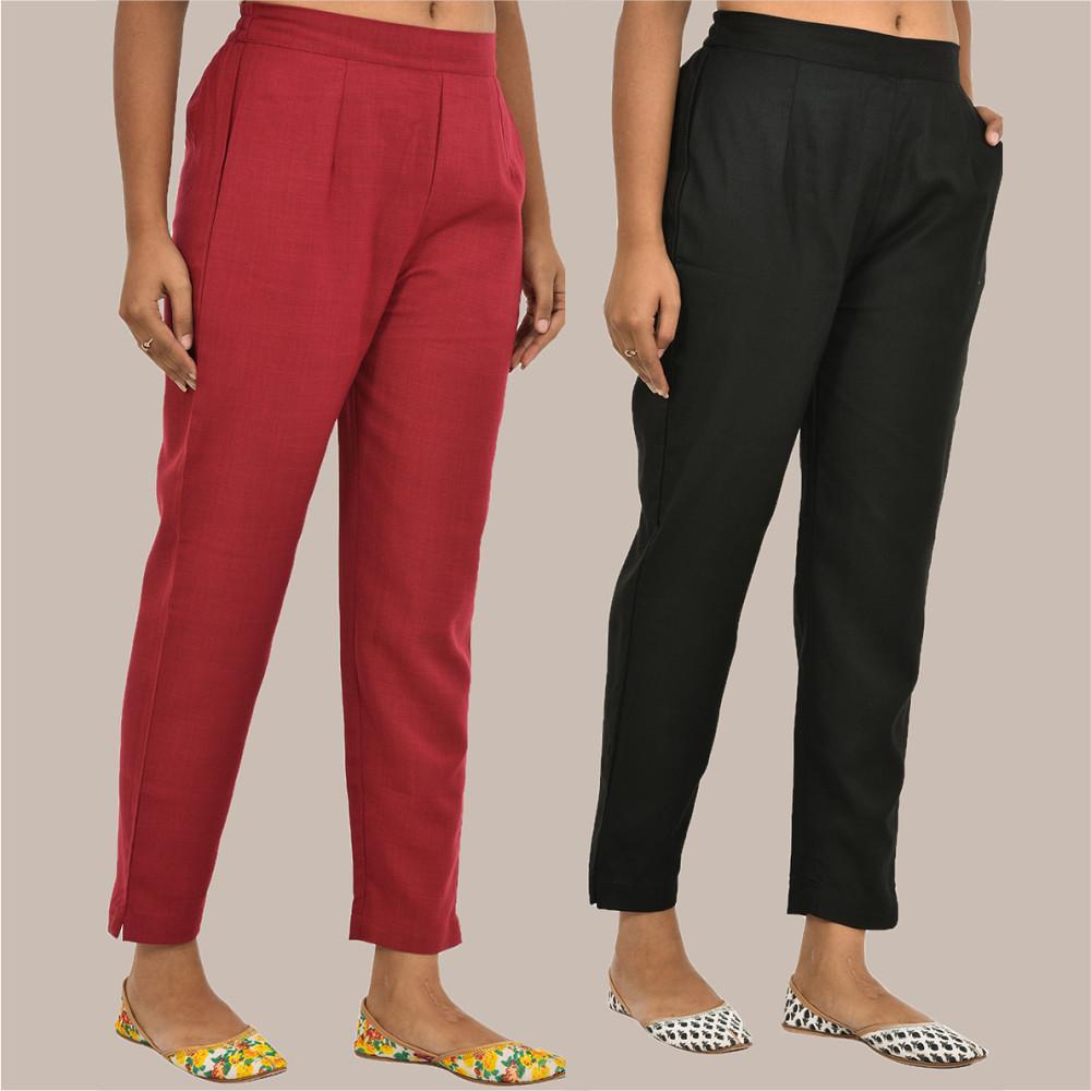 /home/customer/www/fabartcraft.com/public_html/uploadshttps://www.shopolics.com/uploads/images/medium/Combo-of-2-Solid-Women-Pants-Cotton-Slub-Maroon-and-Black-36133.jpg