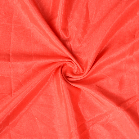 Coral Pink Plain Santoon Fabric-65035