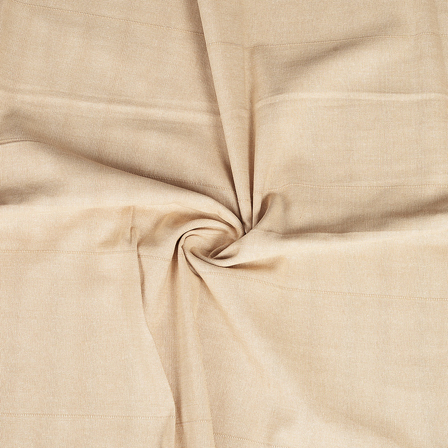 Cream Cotton Handloom Khadi Fabric-40225
