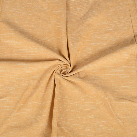 Cream Cotton Handloom Khadi Fabric-40261