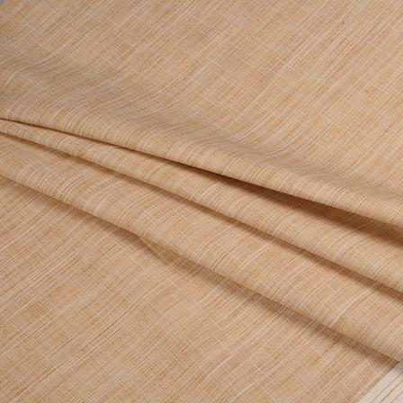 Khadi Shirt (2.25 Meter) Fabric-Cream Handloom Cotton -140347