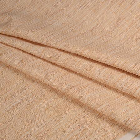 Khadi Shirt (2.25 Meter) Fabric-Cream Handloom Cotton -140346