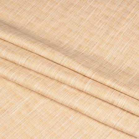 Khadi Shirt (2.25 Meter) Fabric-Cream Handloom Cotton -140374